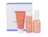 Увлажняющий мини набор для молодой кожи Laneige Fresh Calming Trial Kit (3 Items)