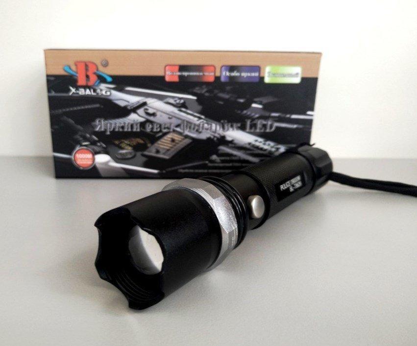 Тактичний ручний ліхтарик Police BL-8626 99000W