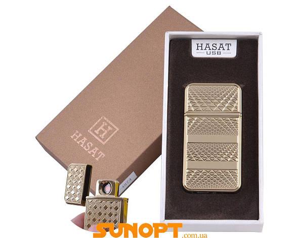 "USB зажигалка в подарочной упаковке ""Hasat"" (Двухсторонняя спираль накаливания) №XT-4874-2, фото 2"