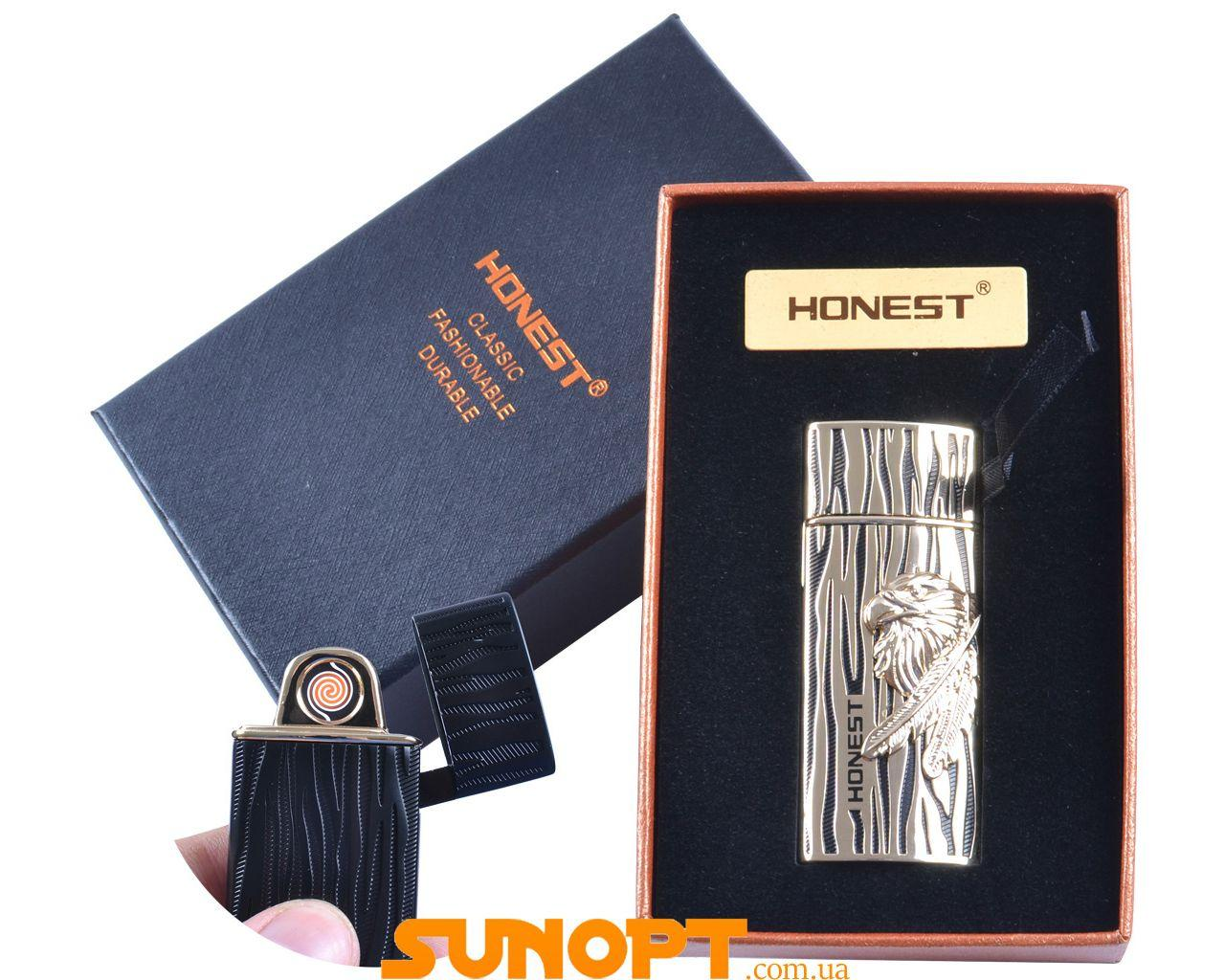 "USB зажигалка в подарочной упаковке ""Перо"" (Двухсторонняя спираль накаливания) №XT-4950-4"
