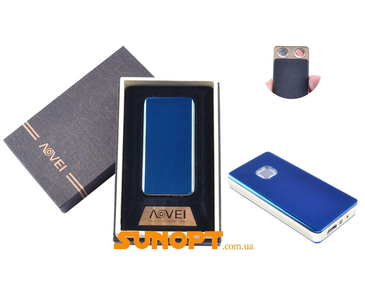 USB зажигалка в подарочной упаковке (Две спирали накаливания) №XT-4879(1)