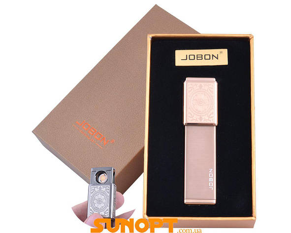 USB зажигалка в подарочной упаковке Jobon (Двухсторонняя спираль накаливания) №XT-4875-3, фото 2