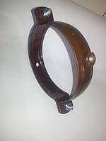 Хомут трубы металлический Ø100 коричневый