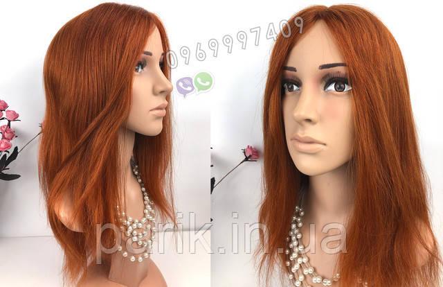парик рыжий длинный 8