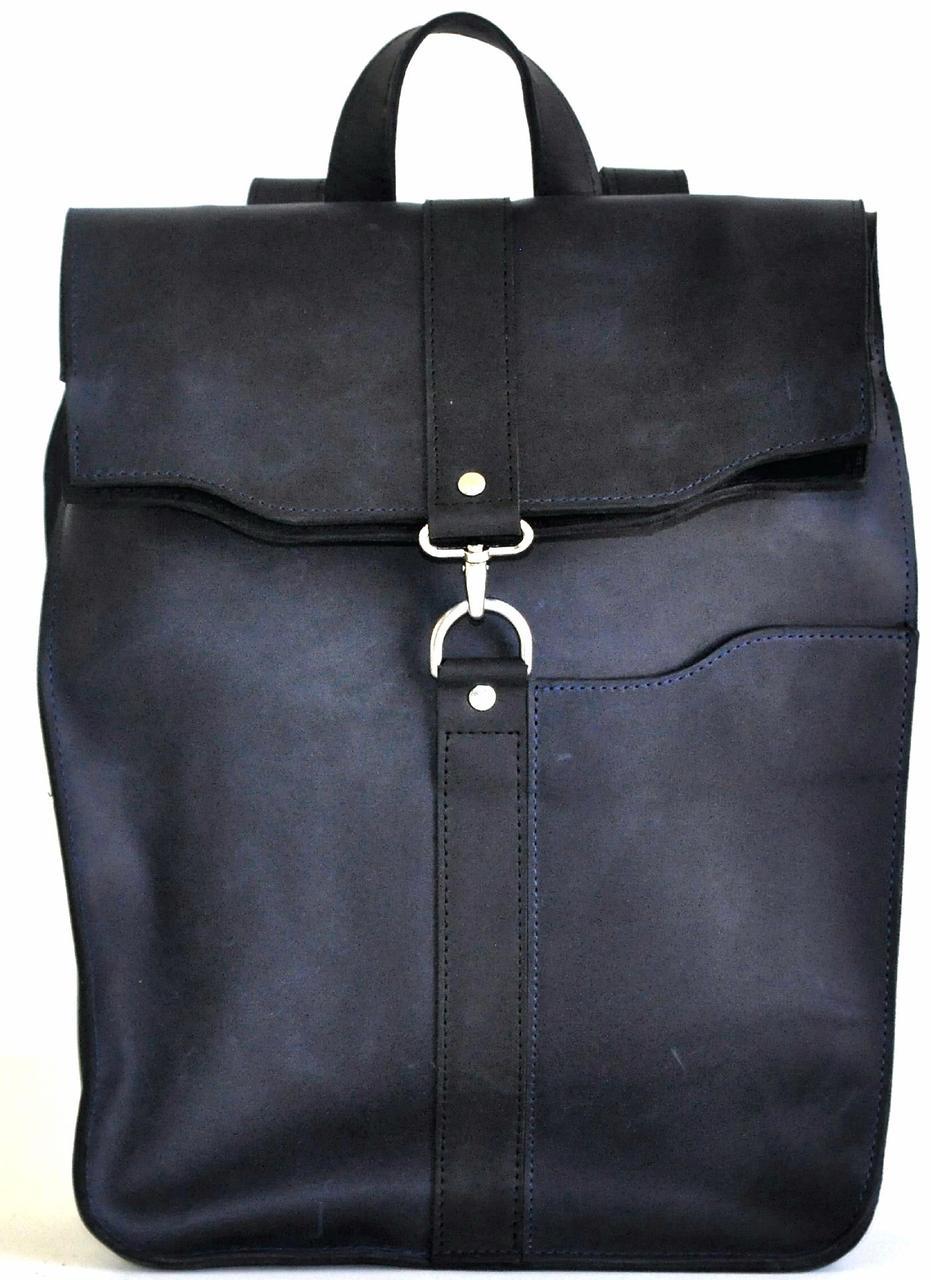 Кожаный городской рюкзак Avitoo P503, на 10 л серый