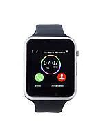 Умные часы телефон Smart Watch A1 Silver