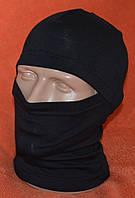 Балаклава летняя, черная, фото 1