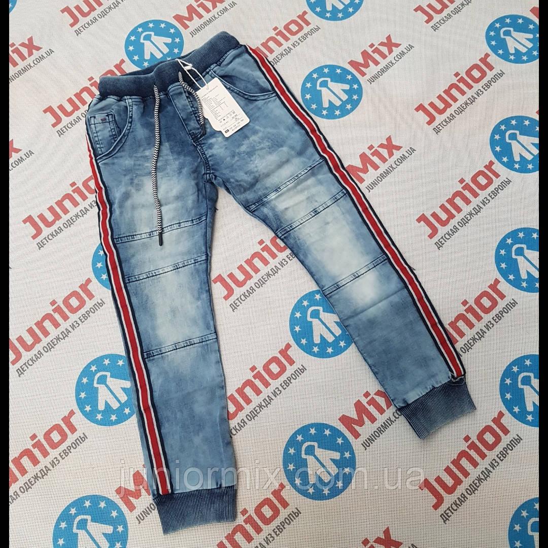 Подростковые джинсовые брюки для мальчиков на манжете оптом S&D