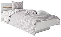 Односпальне ліжко 90 з МДФ/ДСП Бянко Світ Меблів