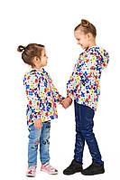 Куртка дитяча на флісі (микрофлисе) Цветик