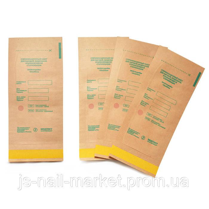 Крафт-пакети Медтест 110х200