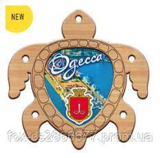 Деревянный магнит, магнит на холодильник Одесса
