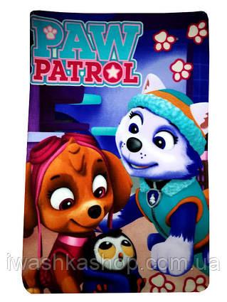 Флисовый плед Щенящий патруль, Скай (Skye), Эверест (Everest) Paw Patrol, Nickelodeon, Sun City.