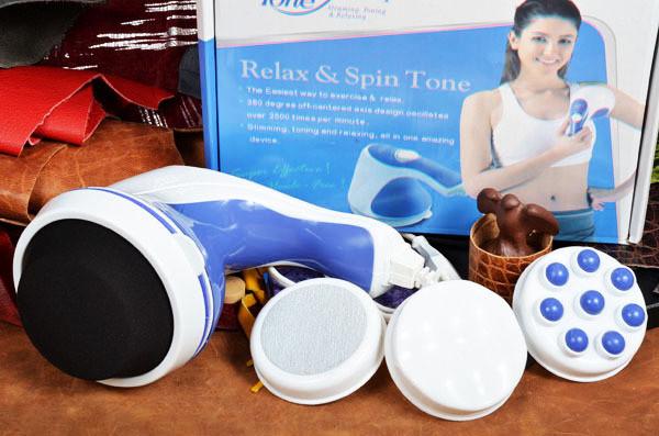 Массажер для тела Relax Spin Tone