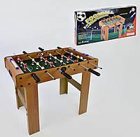 Напольный деревянный футбол 628 В 61717