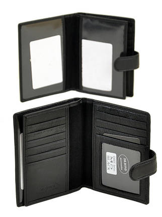 Кошелек Classic кожа DR. BOND M5 black, фото 2
