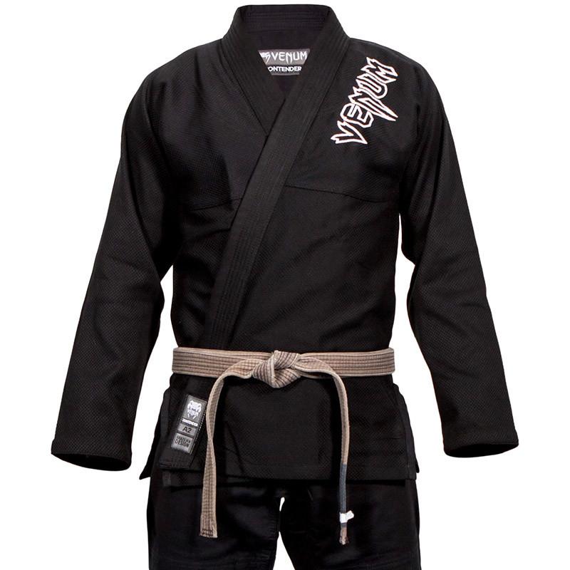 Кимоно для Бразильского Джиу Джитсу Venum Contender 2.0 Черное