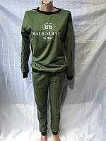 Спортивный костюм женский (48-54 полубатал) трикотаж, Украина - от 4 штук