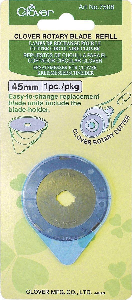 Запасне лезо для розкрійного ножа Clover 7508 (45 мм)