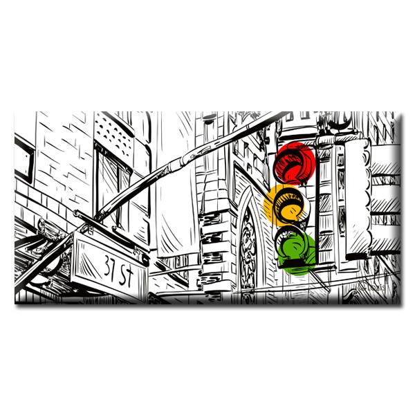Картина New York Glozis D-062 70 х 35 см