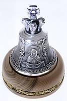 Икона Покров Пресвятой Богородицы на бронзовом колоколе