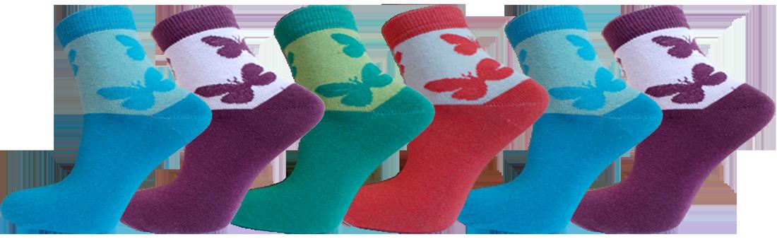 """Дитячі шкарпетки бабочка""""lomani"""""""
