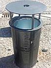 Уличная урна для мусора металическая URBAN7, фото 2