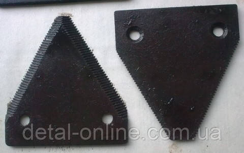 Н 066.08 сегмент ножа жатки ЖРБ
