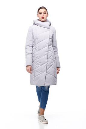 Женское светлое пальто демисезонное теплое разные цвета размер 40-52 , фото 2