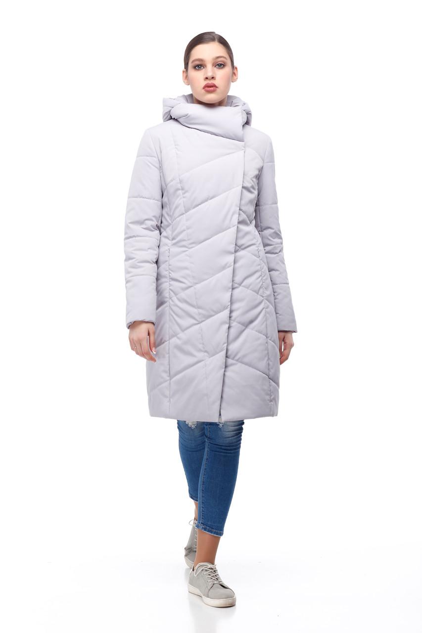 Женское светлое пальто демисезонное теплое разные цвета размер 40-52