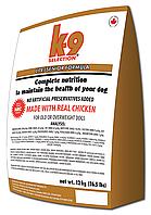 Сухой корм 12 кг для собак, диетический K9 Selection Lite Senior Formula / Nutram