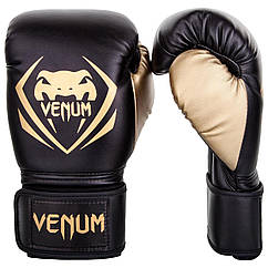Боксерські рукавички Venum Contender Black/Gold
