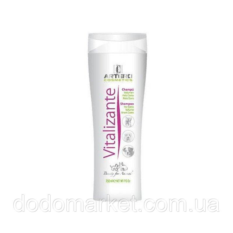 Artero Vitalizante шампунь для короткой шерсти и объема косметика для кошек 250 мл