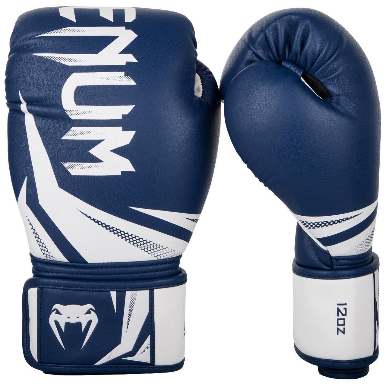 Боксерские перчатки Venum Challenger 3.0 Navy Blue/White