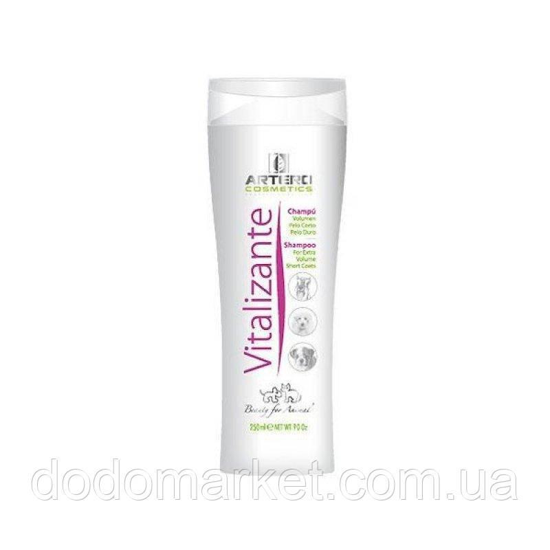 Artero Vitalizante шампунь для короткой шерсти и объема косметика для собак 250 мл