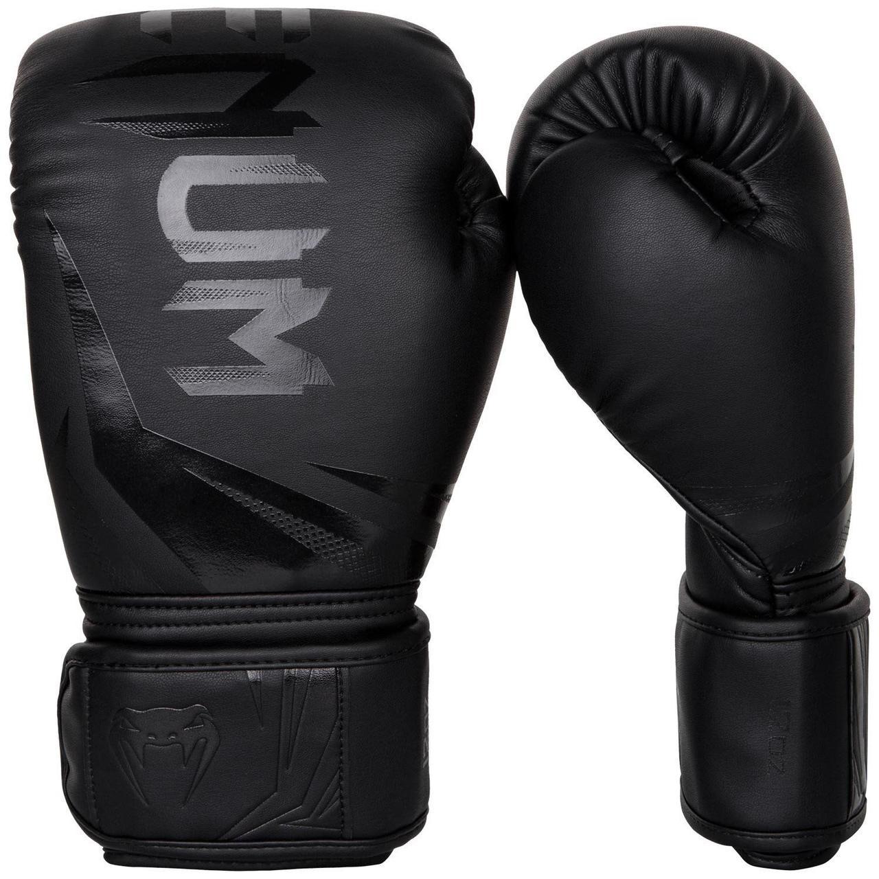 Боксерские перчатки Venum Challenger 3.0 Black/Black