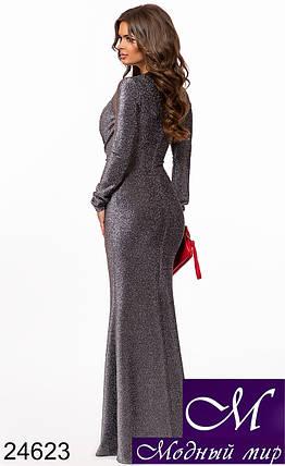 Шикарное женское длинное платье (р. S, M, L) арт. 24623, фото 2