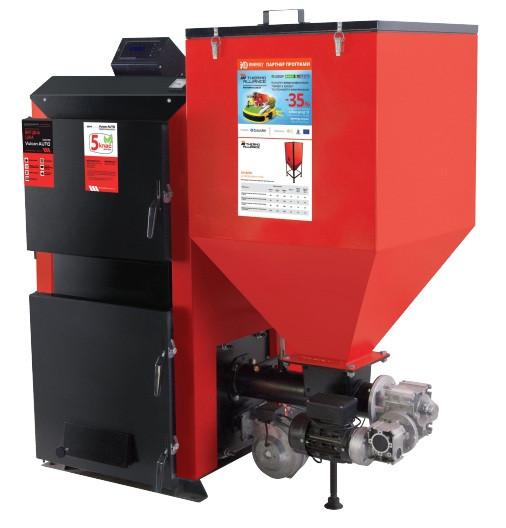 Пеллетный твердотопливный котел Thermo Alliance Vulcan AUTO VASF 35 кВт (Термо Альянс Вулкан Плюс)