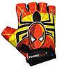 Велорукавички PowerPlay 5473 Spiderman червоно-жовті 4XS, фото 2