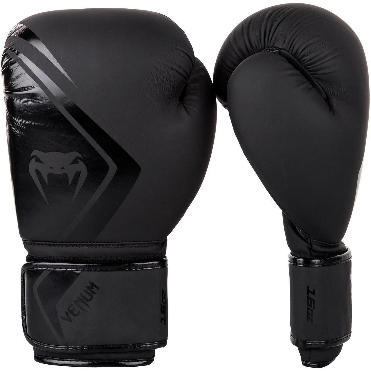 Боксерские перчатки Venum Contender 2/0 Neo Black