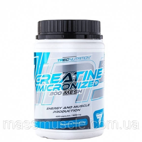 Креатин Trec Nutrition Creatine Micronized 200 mesh 400caps