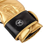 Боксерские перчатки Venum Contender 2/0 Black/White-Gold, фото 5