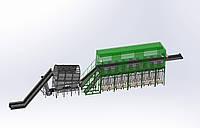 Сортировочная линия твердых бытовых отходов мощностью 15-20 тыс.тонн/год