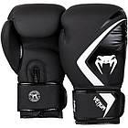 Боксерские перчатки Venum Contender 2/0 Black/Grey-White, фото 4