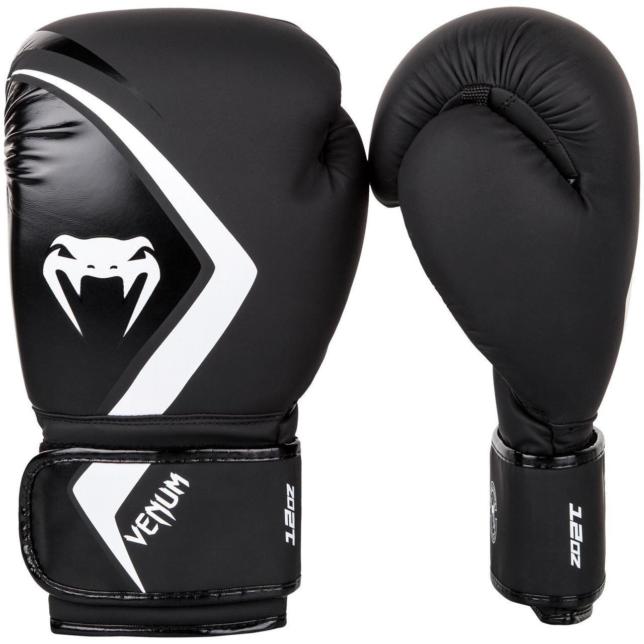 Боксерские перчатки Venum Contender 2/0 Black/Grey-White