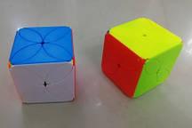 Кубик Рубика цветок, №8985 размер 5,5*5,5см