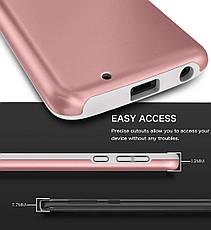 Защитный  чехол бампер для Motorola Moto G 6 розовое золото, фото 3