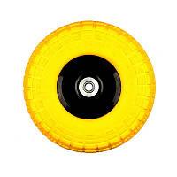 Колесо Budmonster полиуретановое 3,5х4 к тачке Budmonster арт. 01-026 модель 01-022 (10500)