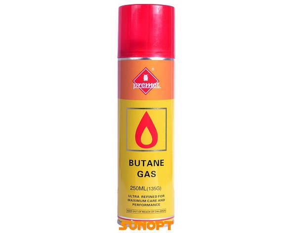 """Газ для зажигалок (Турция) """"Premet"""" 250, фото 2"""