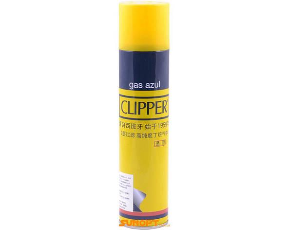 Газ для зажигалок 300 мл Clipper(Испания), фото 2
